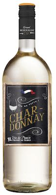 Grand Restaurant Chic, Vin de France Chardonnay 75 cl. - Alc. 12,5% Vol.