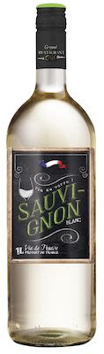Grand Restaurant Chic, Vin de France Sauvignon 75 cl. - Alc. 11% Vol.