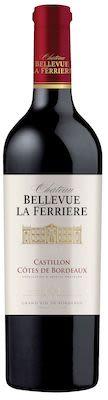 Château Bellevue la Ferrière, Castillon Côte de Bordeaux 75 cl. - Alc. 14,5% Vol.