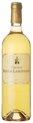 2011 Château Bastor Lamontagne Sauternes 37,5 cl. - Alc. 14% Vol.