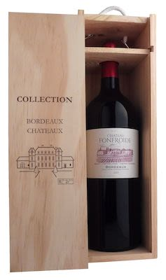Château Fonfroide Bordeaux Red 150 cl. - Alc. 13,5% Vol. in wooden box