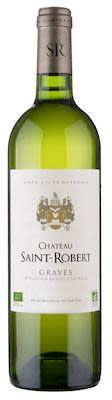 Château Saint Robert AOP Graves Blanc ORGANIC 75 cl. - Alc. 13% Vol.