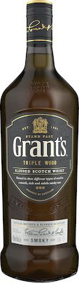 Grant's Triple Wood Smoky 100 cl. - Alc. 40% Vol.