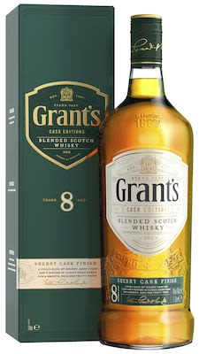 Grant's 8 Y.O. Sherry Cask 100 cl. - Alc. 40% Vol.