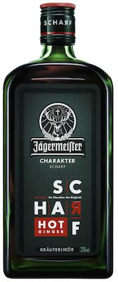Jägermeister Scharf Hot Ginger 100 cl. - Alc. 33% Vol.