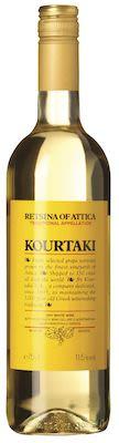 Kourtaki Retsina Of Attica 75cl. - Alc. 11,5% Vol.