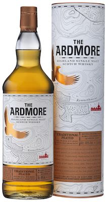 The Ardmore Traditional Peated, 100 cl. - Alc. 40% Vol. In gift box. Highland.
