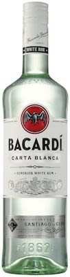 Bacardi Carta Blanca 100 cl. PET - Alc. 37.5% Vol.