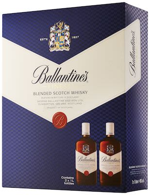 Ballantine's Finest Twin Pack 2x100 cl. - Alc. 40% Vol.