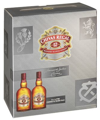 Chivas Regal 12 YO Twin Pack 2x100 cl. - Alc. 40% Vol.