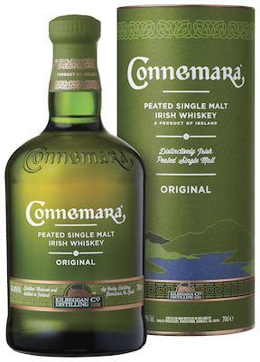Connemara Peated, 70 cl. - Alc. 40% Vol. Irish.