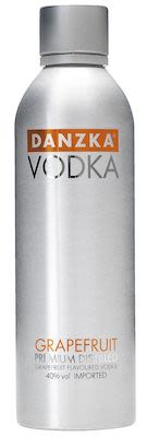 Danzka Vodka Grapefruit 100 cl. - Alc. 40% Vol.