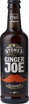 Stone's Ginger Joe Alcoholic Ginger Beer 24x33 cl. blts. - Alc. 4% Vol.