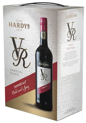Hardy's, Varietal Range, Shiraz bag in box 300 cl. - Alc. 13% Vol.