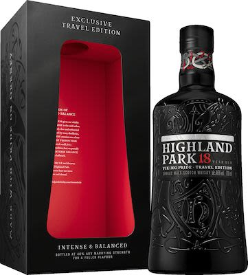 Highland Park 18 YO, 70 cl. - Alc. 46% Vol. In gift box. Orkney.