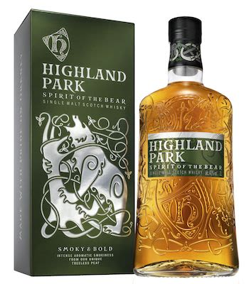 Highland Park Bear, 100 cl. - Alc. 40% Vol. In gift box. Orkney.