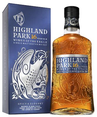 Highland Park Eagl, 70 cl. - Alc. 44.5% Vol. In gift box. Orkney.