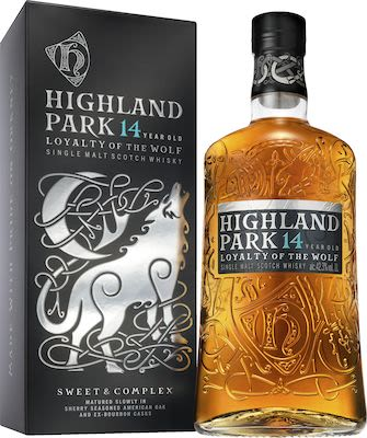 Highland Park Wolf, 100 cl. - Alc. 42.3% Vol. In gift box. Orkney.