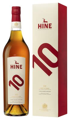 Hine 10 YO XO 100 cl. - Alc. 41.8% Vol. In gift box.