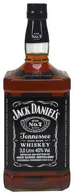 Jack Daniel's Black Label, 300 cl. - Alc. 40% Vol.