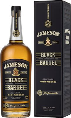 Jameson Black Barrel, 100 cl. - Alc. 40% Vol. In gift box. Irish.