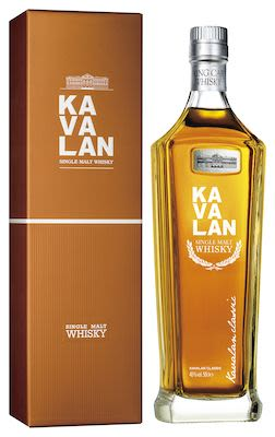 Kavalan Taiwans Single Malt 50 cl. - Alc. 40% Vol. In gift box.