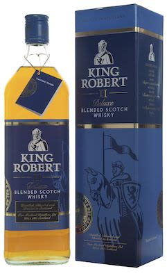 King Robert II de Luxe, 100 cl. - Alc. 43% Vol.