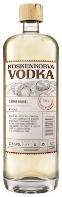 Koskenkorva Sauna Barrel 100 cl. - Alc. 37.5% Vol.