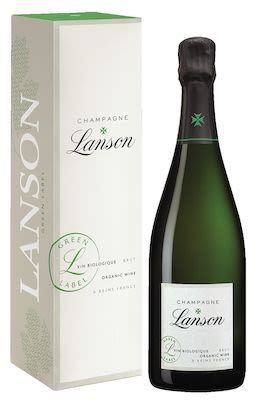 Lanson, Green Label, Champagne 75 cl. - Alc. 12.5% Vol. In gift box.