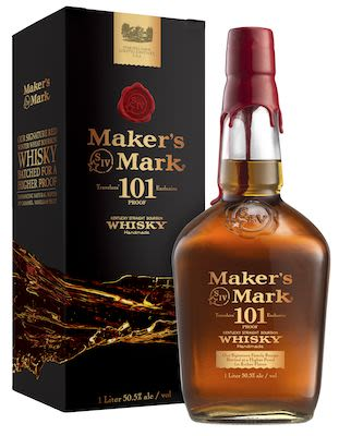 Maker's Mark 101 Whiskey, 100 cl. - Alc. 50.5% Vol.