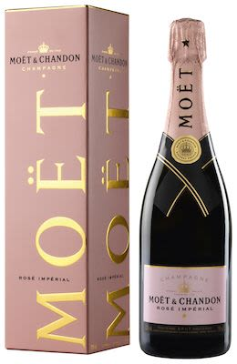 Moët & Chandon Brut Imperial Rosé 75 cl. - Alc. 12% Vol. In gift box.