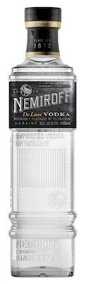 Nemiroff De Luxe Vodka 100 cl. - Alc. 40% Vol.