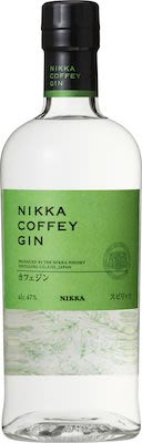 Nikka Coffey Gin 70 cl. - Alc. 47% Vol. In gift box.