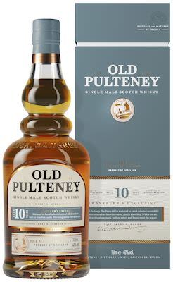 Old Pulteney 10 YO, 100 cl. - Alc. 40% Vol. In gift box.