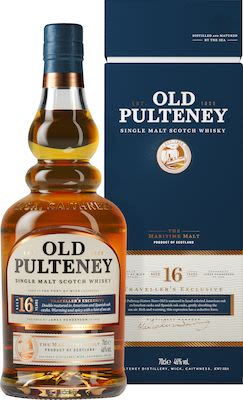 Old Pulteney 16 YO, 70 cl. - Alc. 46% Vol. In gift box.