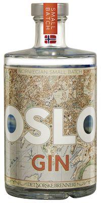 Oslo Gin 50 cl. - Alc. 45.8% Vol.
