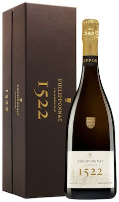 Philipponnat, Cuvée 1522, Champagne 75 cl. - Alc. 12% Vol. In gift box.