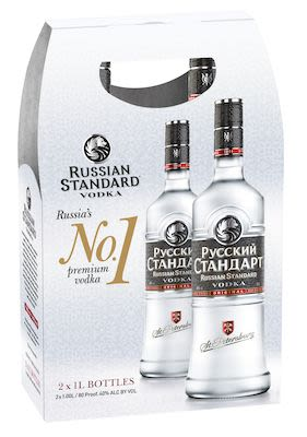 Russian Standard Twin Pack 2x100 cl. - Alc. 40% Vol.