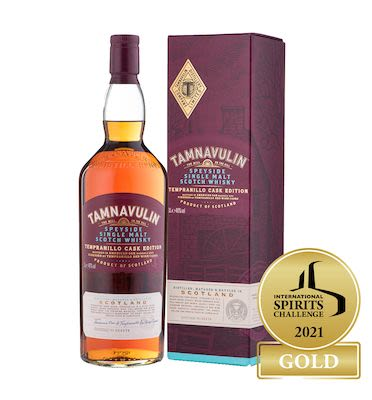 Tamnavulin Tempranillo Cask Edition, 100 cl. - Alc. 40% Vol. In gift box. Speyside.