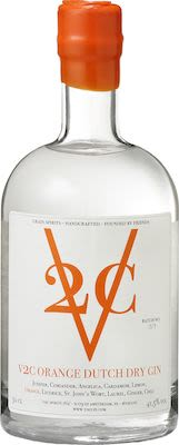 V2C Orange Dutch Dry Gin 50 cl. - Alc. 41.5% Vol.