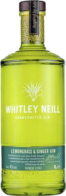 Whitley Neill Lemongrass & Ginger 100 cl. - Alc. 43% Vol.