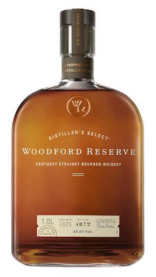 Woodford Reserve Kentucky Straight Bourbon Whiskey, 100 cl. - Alc. 43.2% Vol.