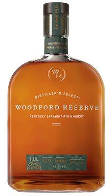 Woodford Reserve Kentucky Straight Rye Whiskey, 100 cl. - Alc. 45.2% Vol.