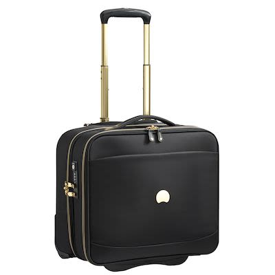 Delsey Montrouge (26L) Cabin Trolley, Black