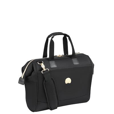 "Delsey Montrouge Laptop Bag (18,9L), 14"", Black"