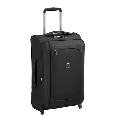 Delsey Montmatre Air 2.0 (40L) 2W Cabin Trolley, Black