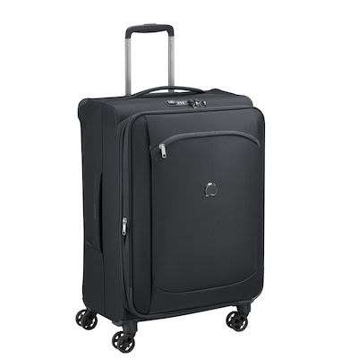 Delsey Montmatre Air 2.0 (78L) 4W Trolley, Black