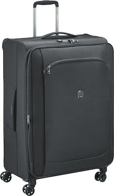 Delsey Montmatre Air 2.0 (118L) 4W Trolley, Black