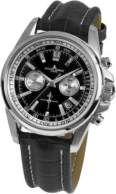 J.L. Gent's Sport Liverpool Chrono Watch Black