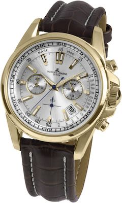 J.L. Gent's Sport Liverpool Chrono Watch IP-Gold